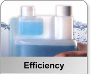 The most super efficient cleaning products and patented bottle design.